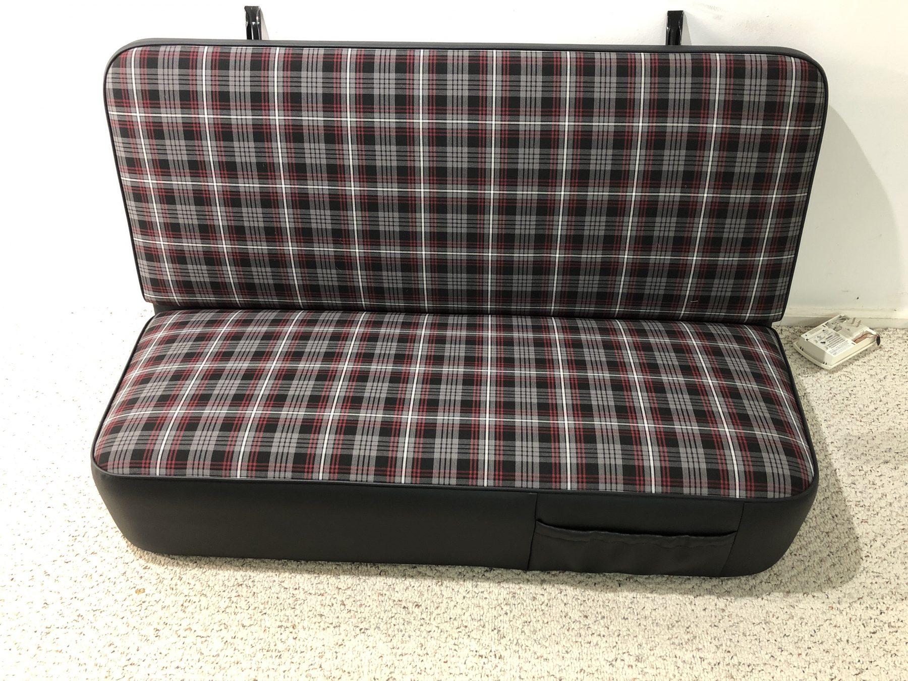 Custom Bench Seat Upholstery