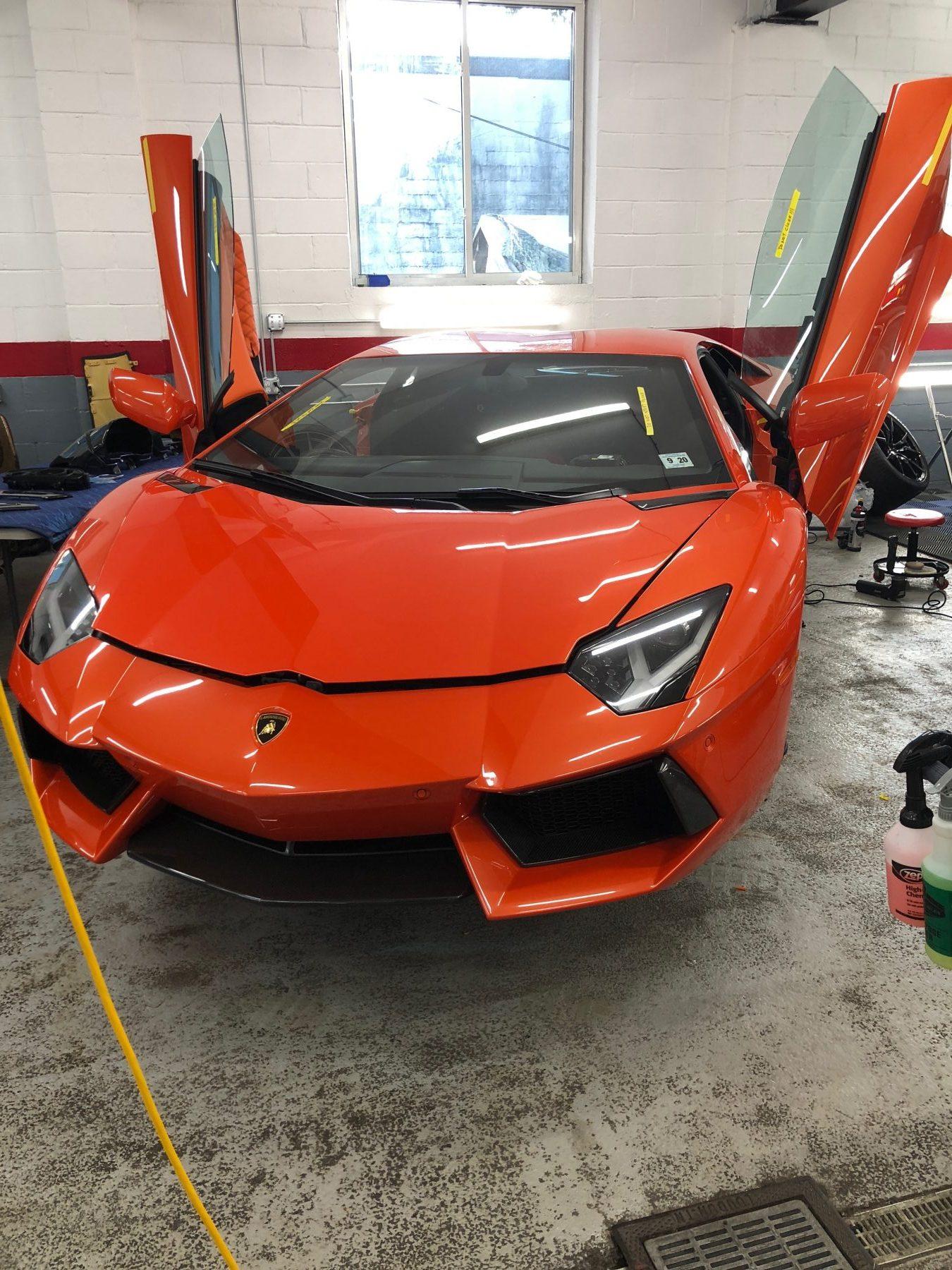 Lamborghini Custom Upholstery